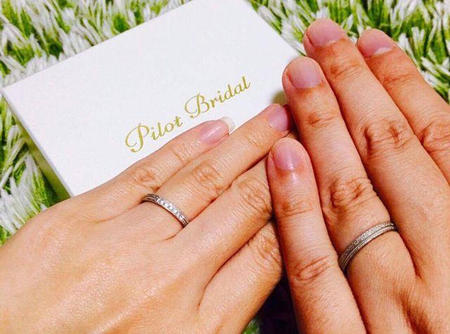 結婚指輪は必ずヴァンクールマキさんで決めようと思っていきました