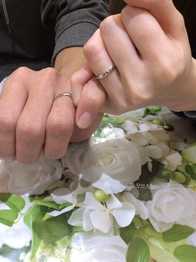 素敵な指輪を紹介していただいてわくわくして楽しかったです!