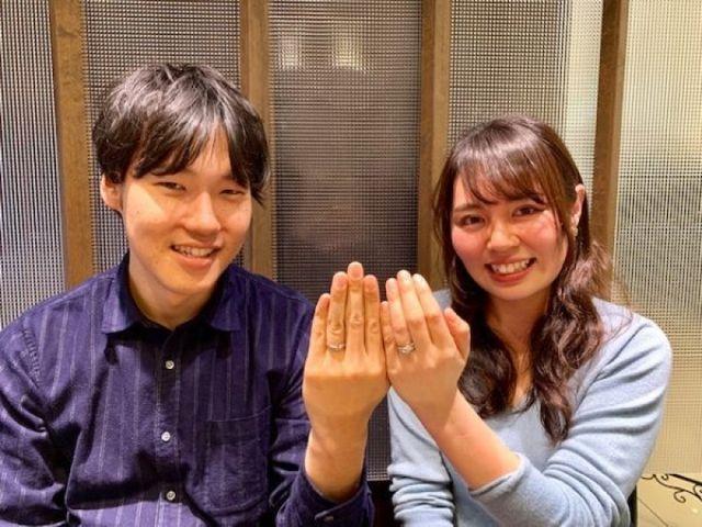 NIWAKA俄のセットリング「初桜」に永遠に巡る想いを込めて