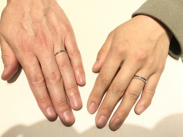 結婚指輪が届きました!!