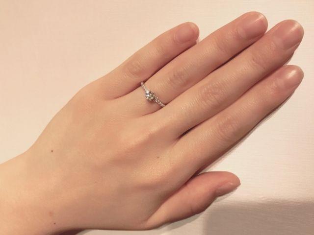 最高の指輪に出会えました!