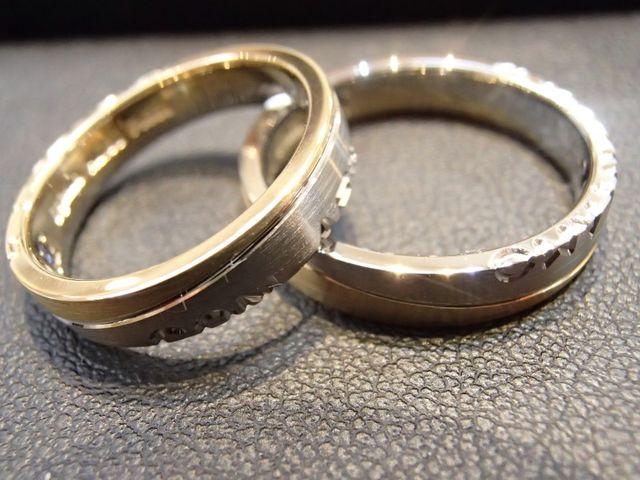 セミオーダーで2人だけのリングが作れる