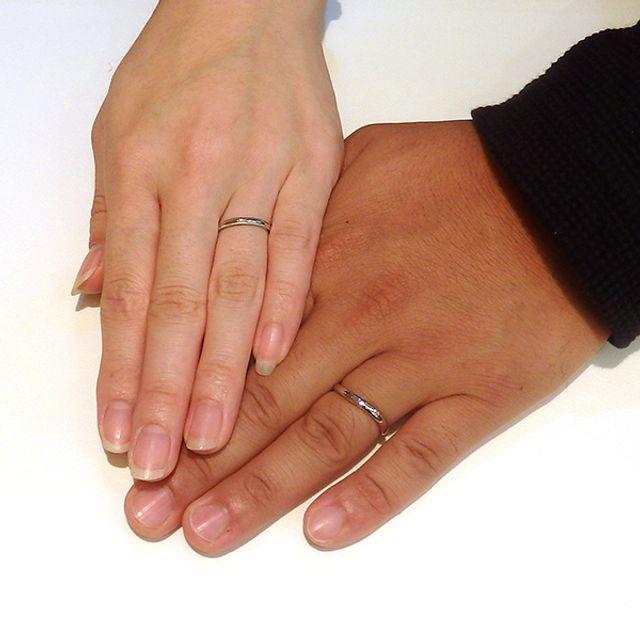 お互いの好きなデザインで指輪をオーダー!