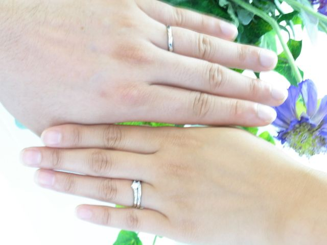 良い指輪ができました