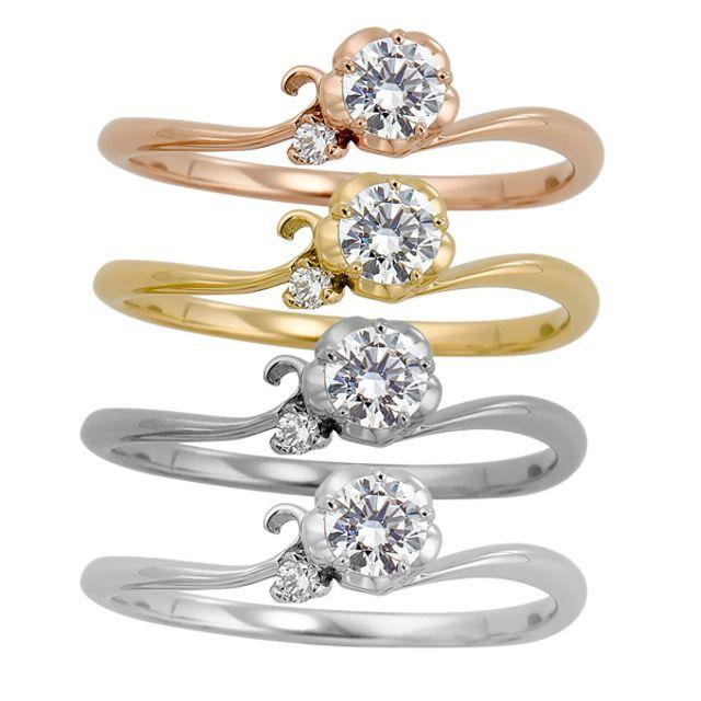かわいい指輪が多い♡