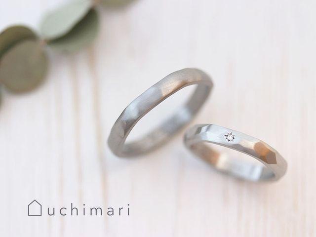 お互いに作った指輪が手にはまるのでより大切にできそうです