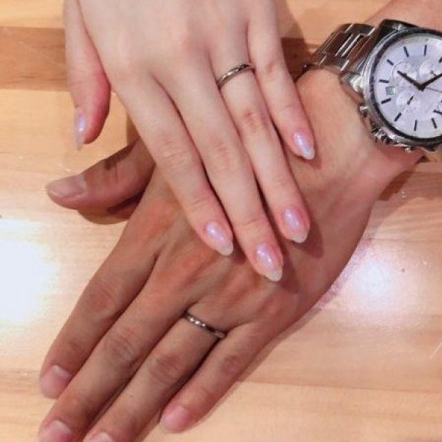 愛情を込めた手作り指輪♪