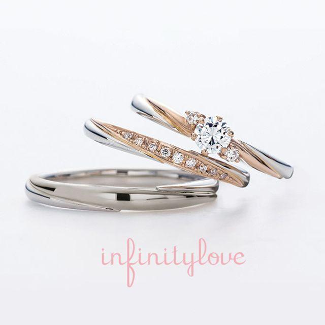 理想的なデザインの指輪にひと目惚れしました