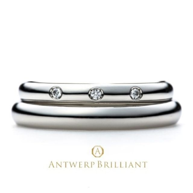 シンプルで重ね付けができる素敵なデザインの指輪に出会えました!