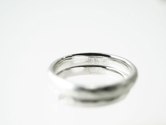 オリジナリティたっぷりのご結婚指輪