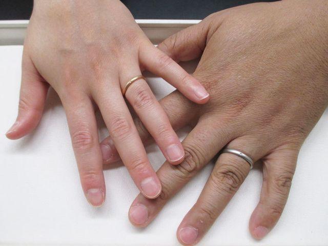 """作った時間と、指輪""""物""""どちらも残るので、一生の記念になります。"""