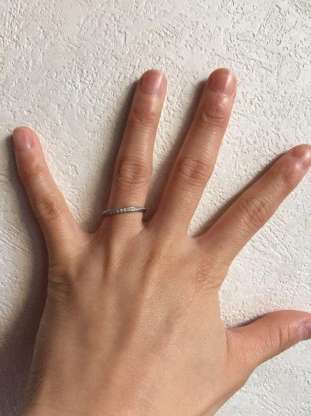私が一目惚れした指輪です。