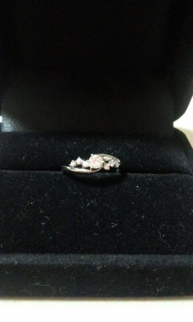 Tinker Bellデザインの指輪です