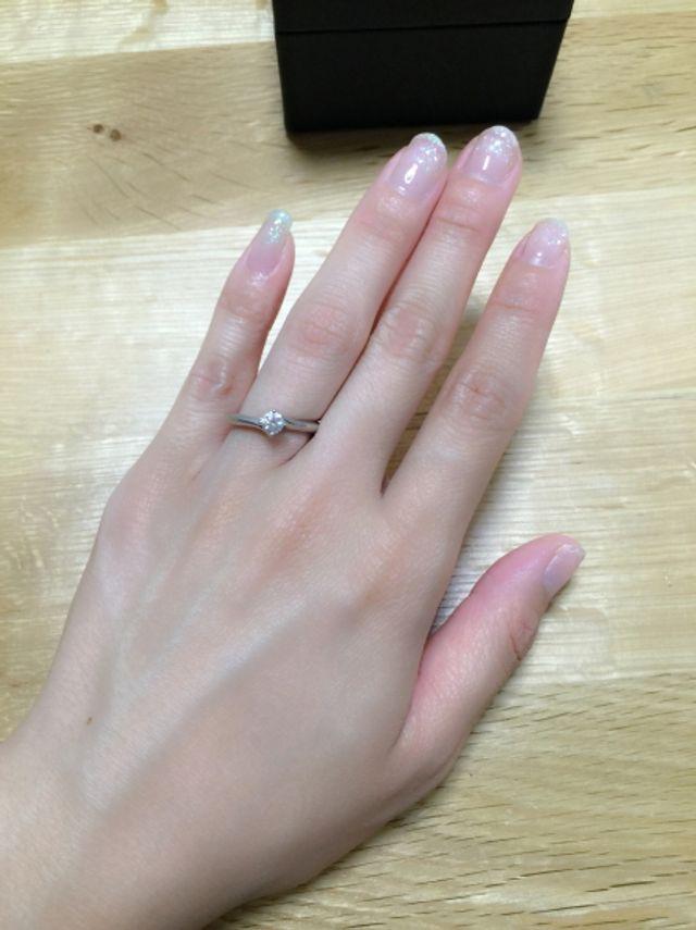 指が長く見えます