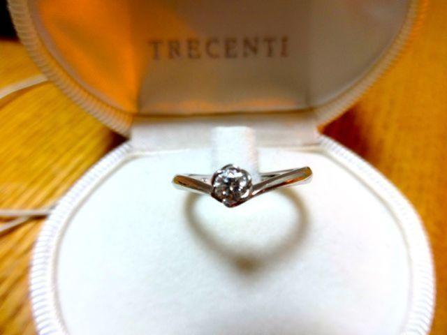 婚約指輪 フローラ