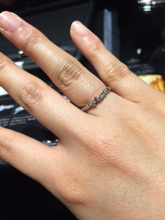 投稿は男ですが指は女性です