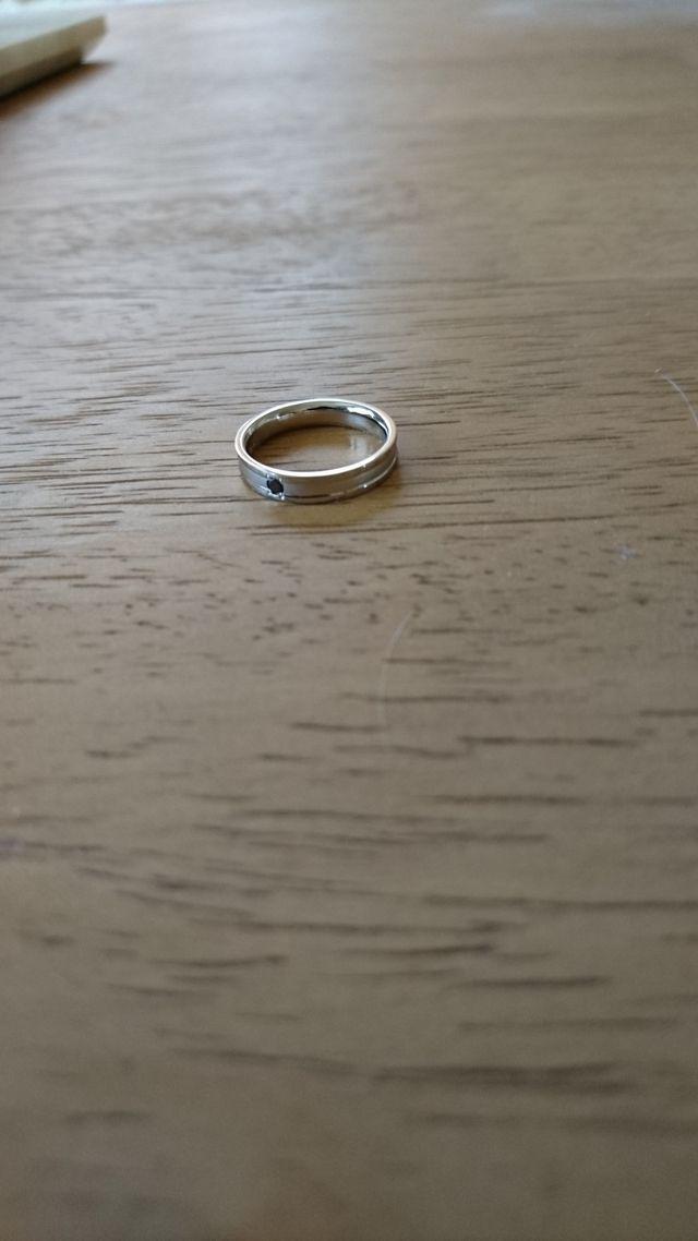 無くしてしまった結婚指輪のかわりに購入