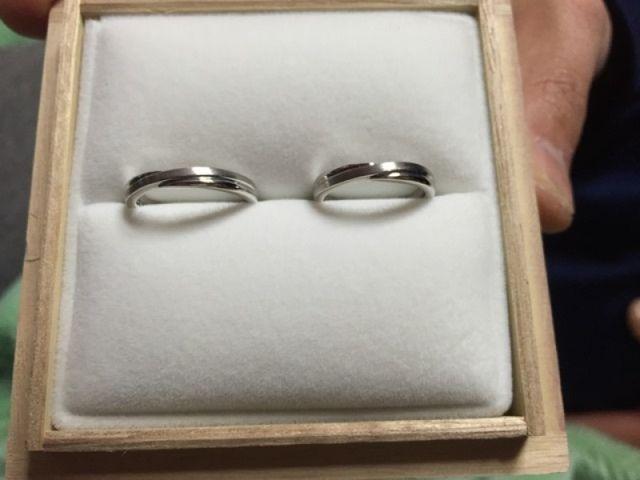 シンプルな結婚指輪★