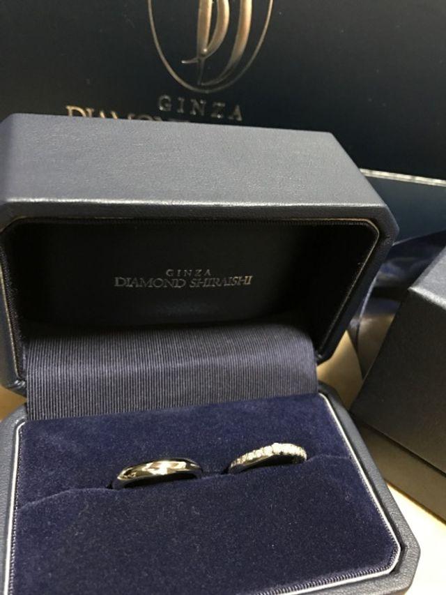 一目惚れで購入した結婚指輪です