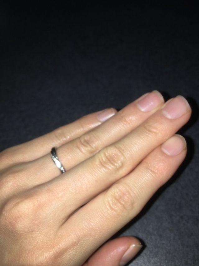 4°Cの結婚指輪