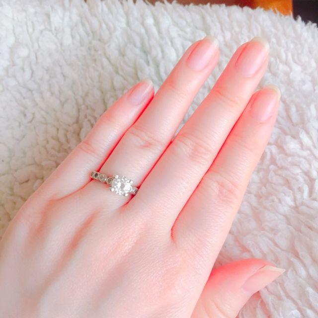 purchase cheap 3fe5d b70c6 大好きなティファニーに憧れて、買いました。 この指輪の ...