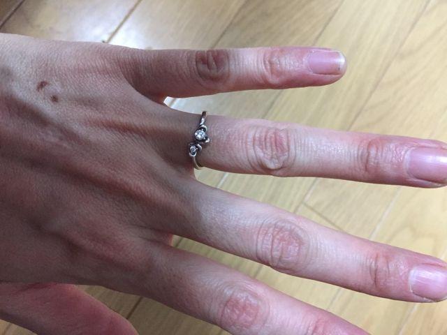 クレージュの指輪