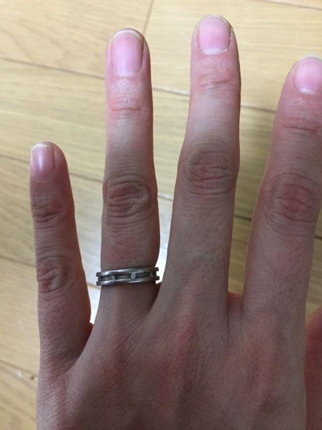 4℃の結婚指輪