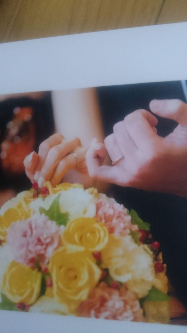 結婚式の時もプロに素敵に撮ってもらいました
