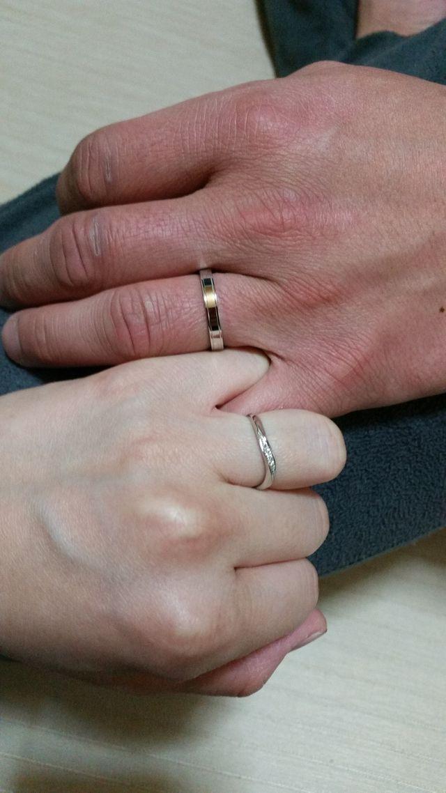 一生、この手と指輪は外しません!