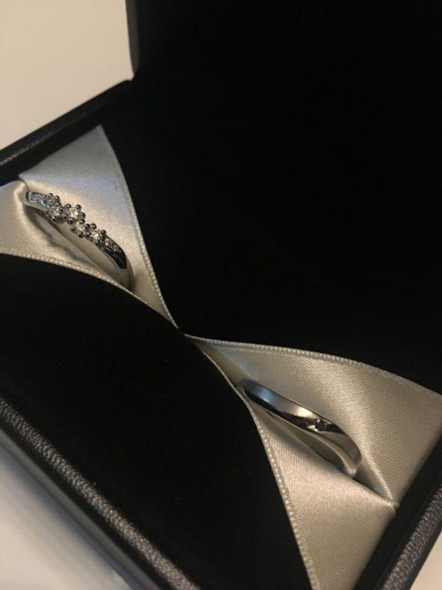 ダイヤの質、デザインが最高です!
