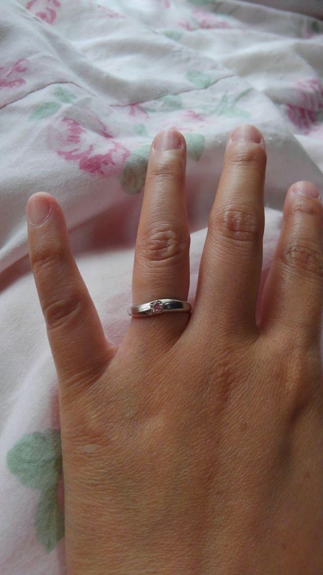 Wish upon a starの指輪です。