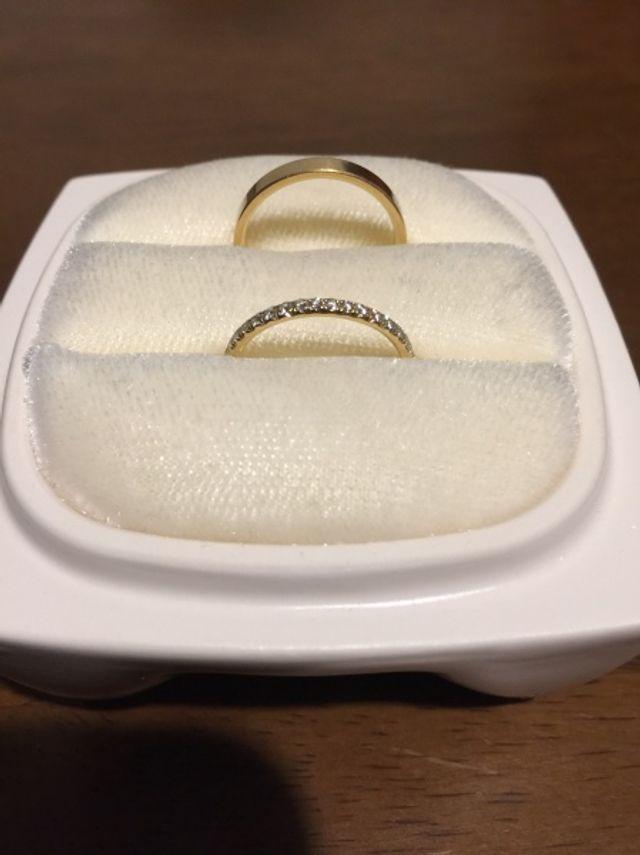 ニワカの結婚指輪