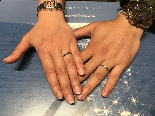 結婚指輪を購入しました