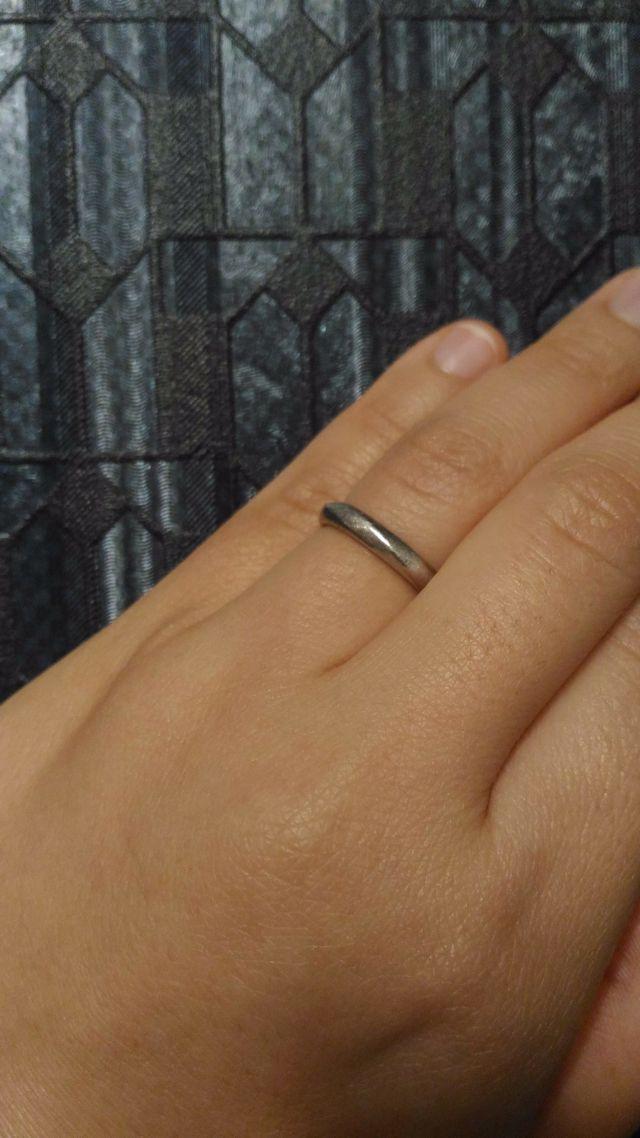 婚約リングをフルオーダーし、それに合うリングにしました!