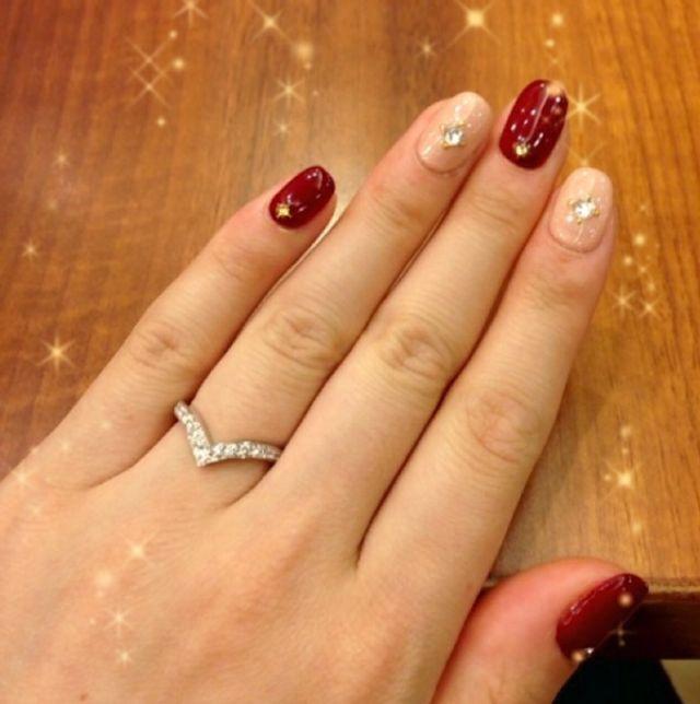ショーメ ジョセフィーヌです。指が綺麗に見えます。