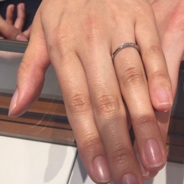 試着時の指輪