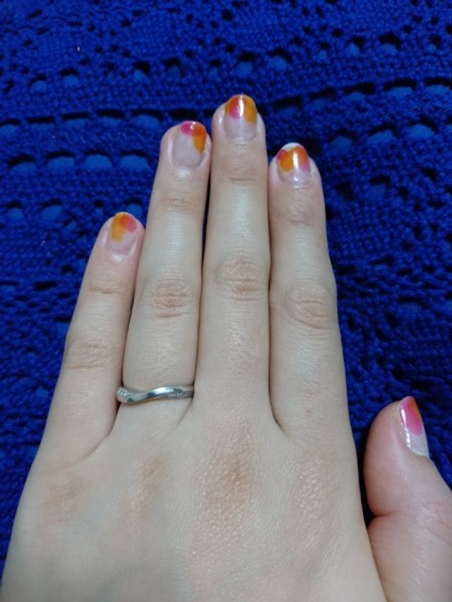 俄で購入した結婚指輪です