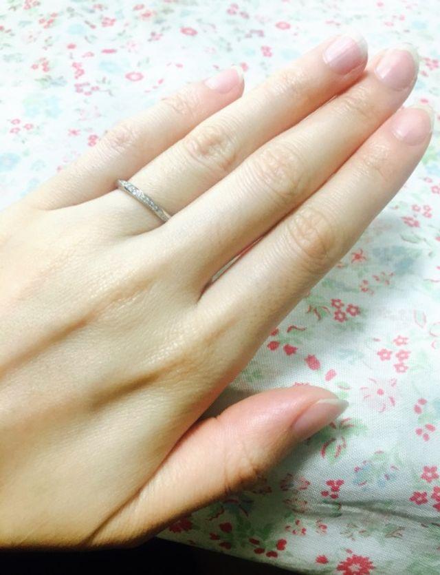 ブーケという指輪です☆