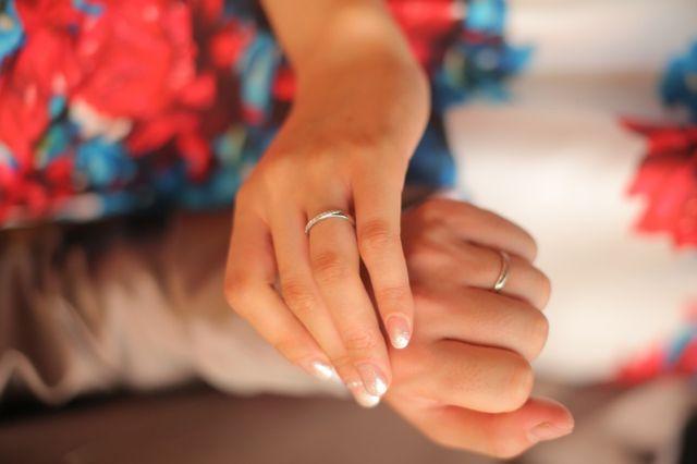 素敵な指輪で気分もキラキラ