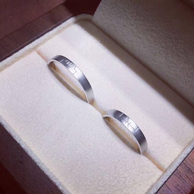 指輪in箱