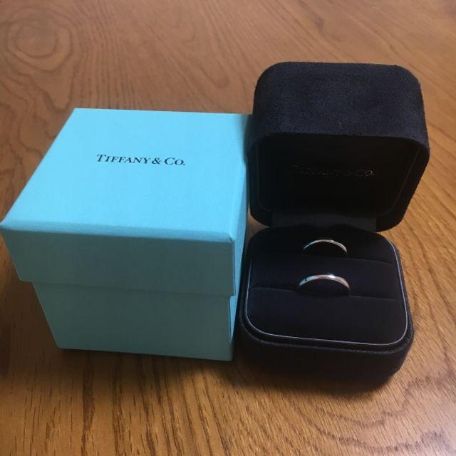 TIFFANYの結婚指輪です!
