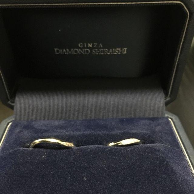 ダイヤモンドシライシ 指輪