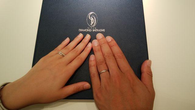 婚約指輪と同じブランド