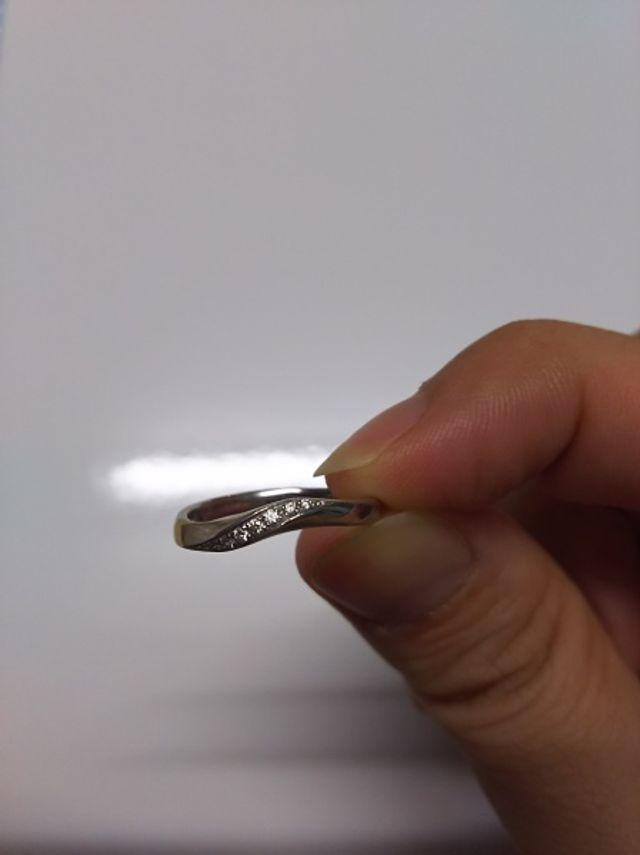 指輪の全体図です。