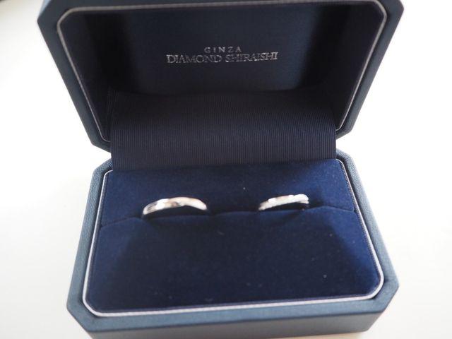ダイヤモンドシライシ結婚指輪