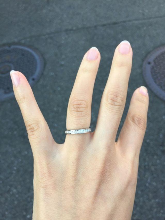 official photos 0666e 89e56 カルティエのタンクの時計を長年利用しており結婚指輪も同じ ...
