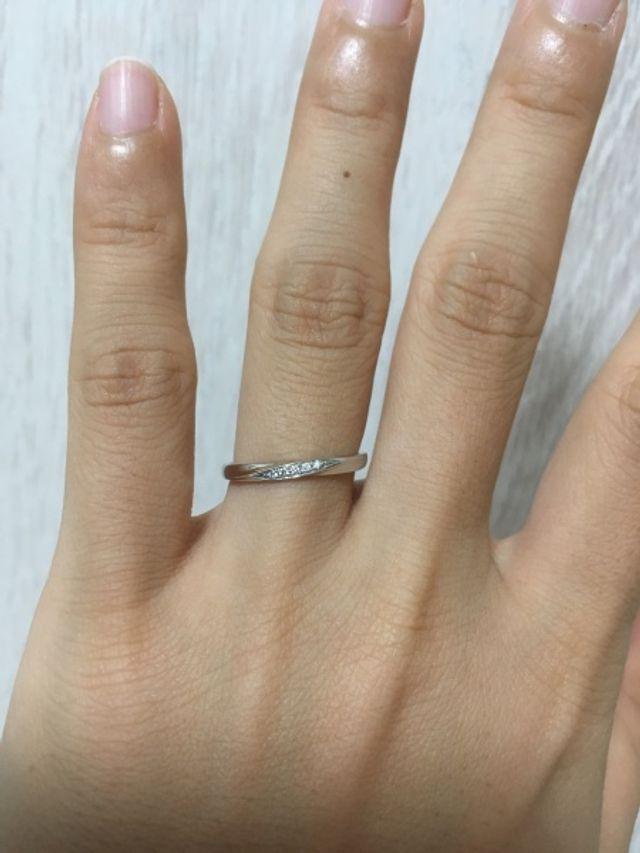 一番しっくりきた指輪でした