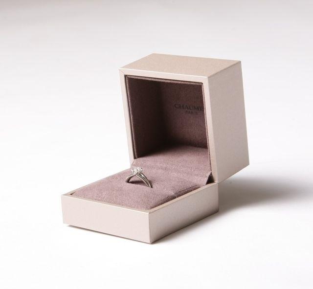 婚約指輪(リアン・ドゥ・ショーメ)前撮りで撮影