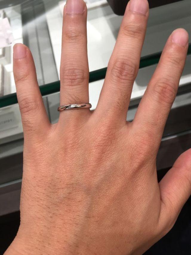 初めての指輪