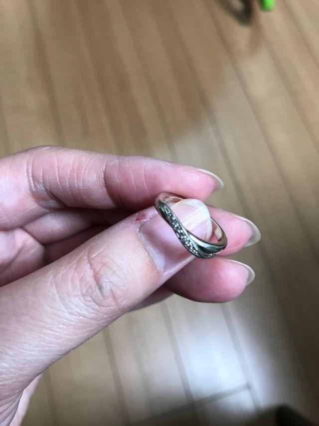 今年、結婚指輪として買いました